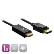 Ewent DisplayPort naar HDMI 1,8 meter