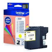Brother LC-223Y inktcartridge Geel Origineel