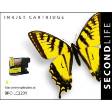 Brother LC-223Y inktcartridge geel (SL)