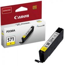 Canon 571 inktcartridge Geel Origineel