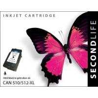 Canon PG-512 inktcartridge zwart (SL)