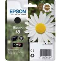 Epson 18 inktcartridge Zwart Origineel