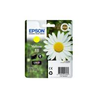 Epson 18 inktcartridge Geel Origineel