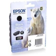 Epson 26XL inktcartridge Zwart Origineel