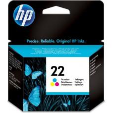 HP 22 inktcartridge Kleur Origineel