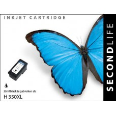 HP 350XL inktcartridge zwart hoge capaciteit (SL)