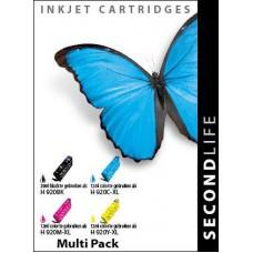HP 920XL inktcartridge multipack magenta/cyaan/zwart/geel hoge capaciteit (SL)