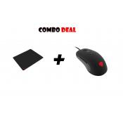 Combo Deal: Genesis Krypton 190 Gaming muis + de Genesis Carbon 500 M muismat